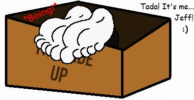 Mystery Box Opened, Jeff's Big Feet Revealed! by beavistv200