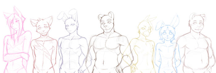 -Sketch- Part Time at Freddy's New Sprites Preview by Nukude