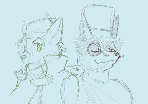 -Sketch- Sherlock Boltund