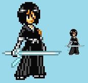 [JUS] Rukia Kuchiki [Bleach] by IceJkai