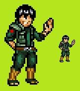 [JUS] Maito Gai (Naruto) by IceJkai