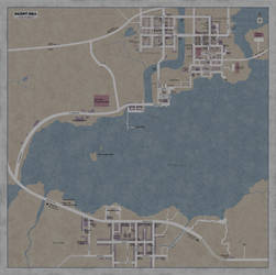 Map of Silent Hill