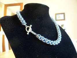 Anodised Aluminium Captive Inverted Necklace