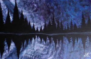 Night-Time Nebula by Knzobi