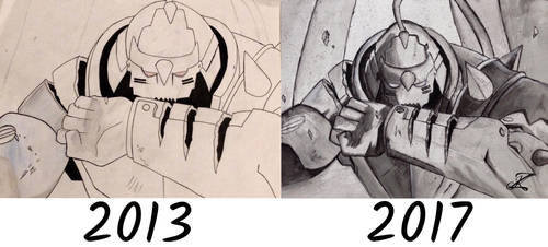 Alphonse Elric-Difference of 4 Years