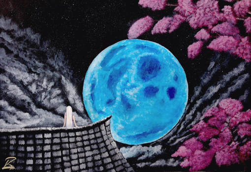 Acrylic Painting-Fengari's Calling