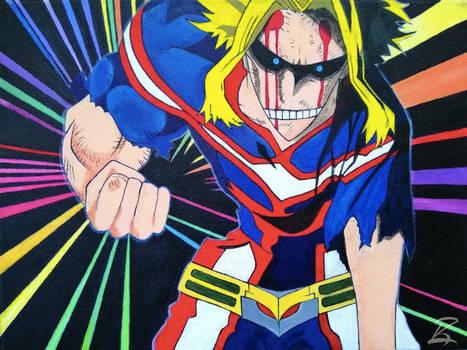 Acrylic Painting-United States of Smash