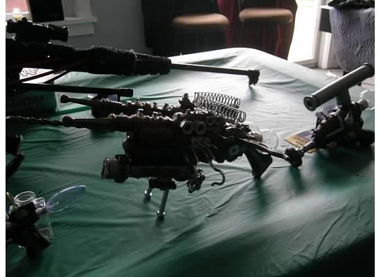 Steampunk Double Barrle Shotgun by RoluevasVasReisa