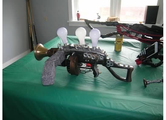 Crossbow Steampunk Cannon by RoluevasVasReisa