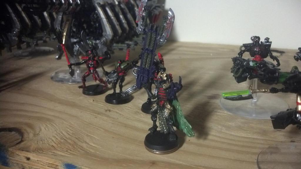 Custom Necron Overlord: Ponnash by RoluevasVasReisa