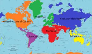 Earth world future map (my rp setting)