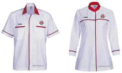 Baju Korporat Kementerian Kesihatan Malaysia (KKM)