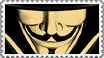 Stamp V of Vendetta by Iluvendure