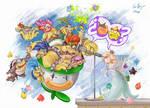 Peach? Luma?- S Mario Galaxy