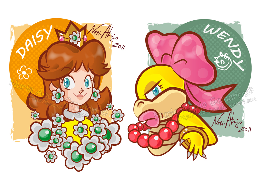 Daisy and Wendy by nuriaabajo