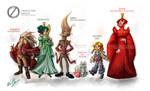 Oz Character Design