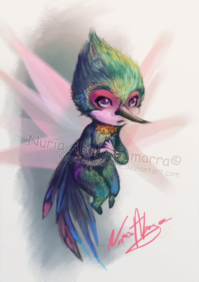 Mini Tooth fairy - Rise of the Guardians by Iluvendure