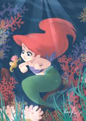 Little Ariel by nuriaabajo