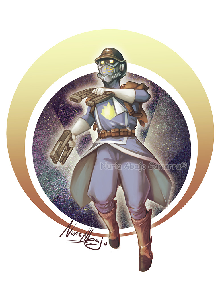 Starlord by nuriaabajo