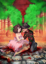 A date in hell: when Freddy met Mary by nuriaabajo