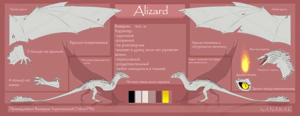 Alizard by AkiramenaiAmaya