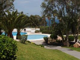 Pool view, Spain by Mattlis