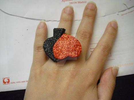 glittery ring
