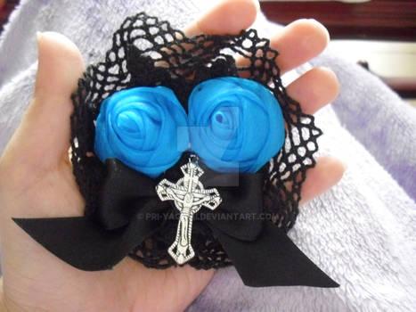 Gothic lolita hair clip