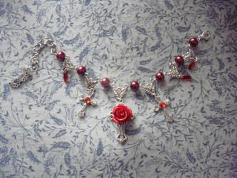 Gothic lolita bracelet