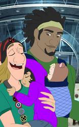 Family by DrawingDisneyStuff