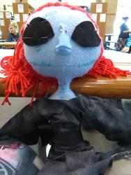 Abigail Skellington doll WIP by DrawingDisneyStuff