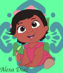Alexa Diaz- Coco Oc by DrawingDisneyStuff