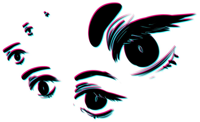eye sizes by Crionym
