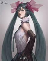 Hatsune Miku by lorenzbasuki