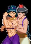 Comm: Jasmine and Aladdin