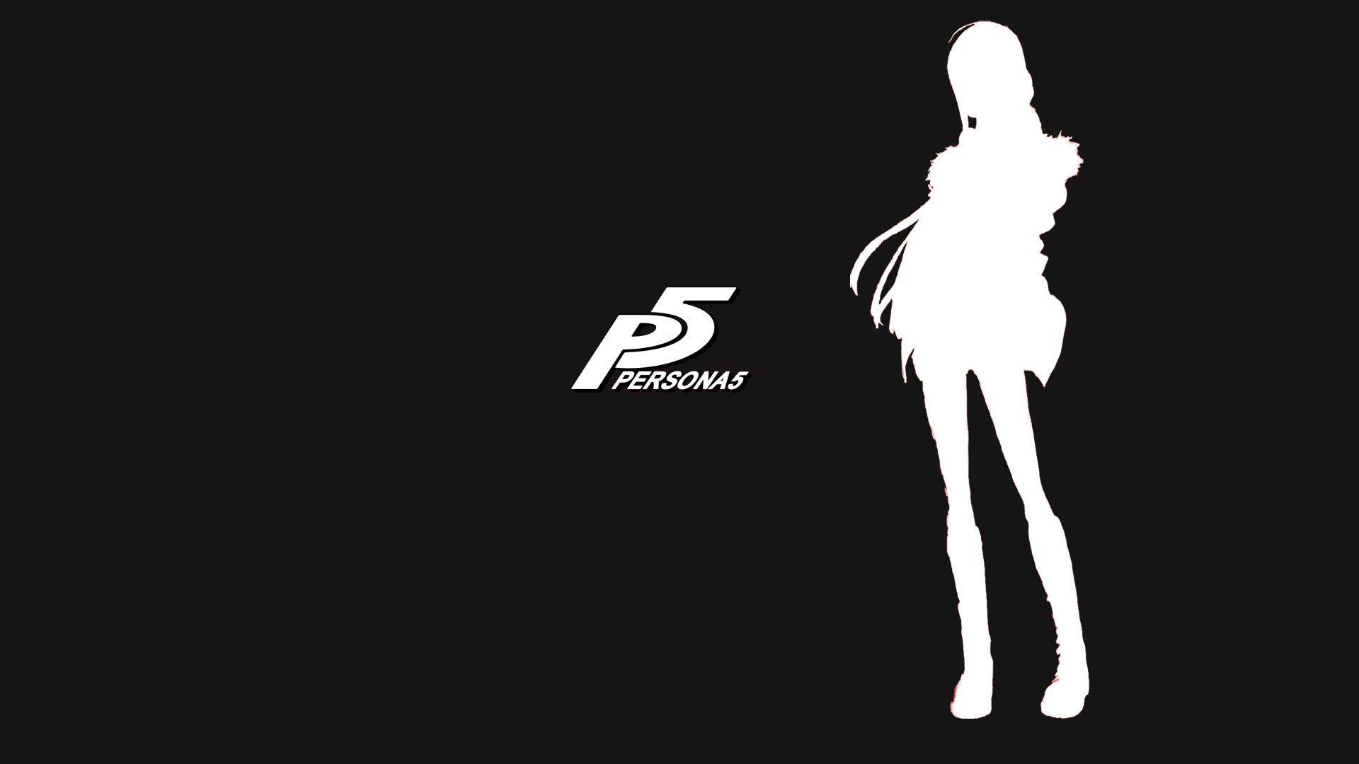 Persona 5 wallpaper BlackWhite 1920x1080