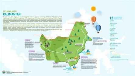 Infografis STRANAS Pulau Kalimantan