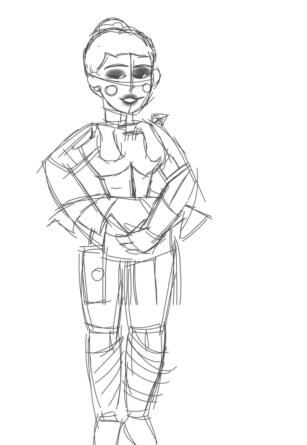 Circus Baby Ballora Page Coloring Pages