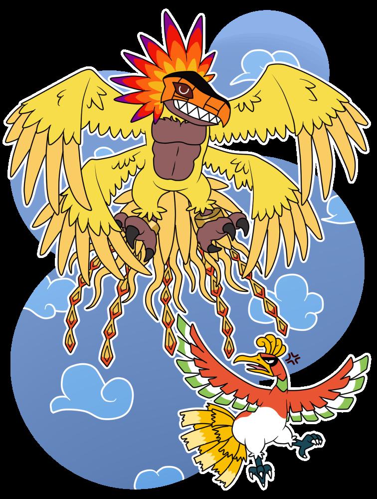 #250 - Ho-ohmon...? - If Pokemons Were Digimons by HeyAnkey