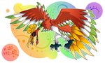 #250 - Ho-ohmon - If Pokemons Were Digimons