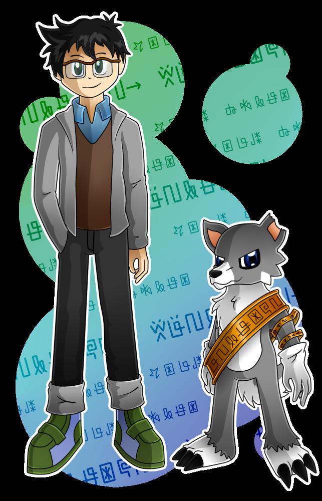 [Commission] Kinsho and Okarumon by HeyAnkey
