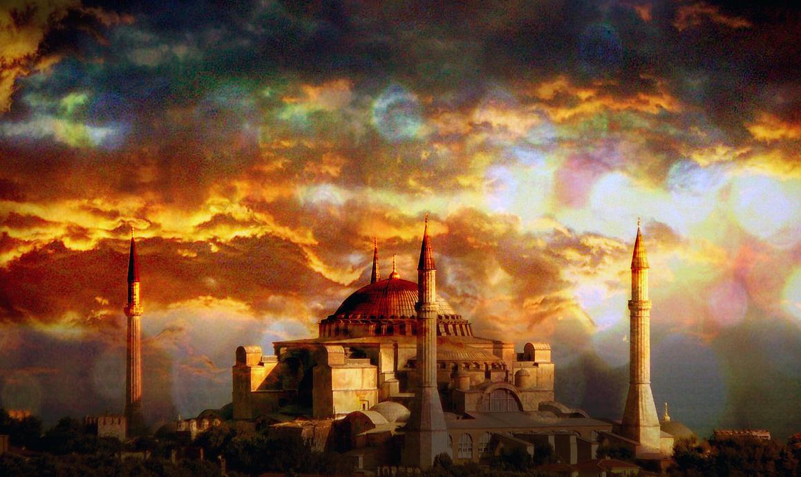 Ayasofya Mosque-Museum 2 by muscol on DeviantArt