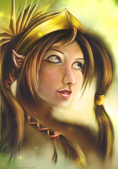 Beautiful Elf by Dreamisover