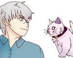 Shiro and Neko by That-Canadian-Eh