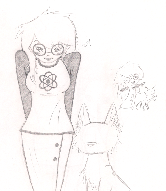 Jade Sketch by vaporeondreams