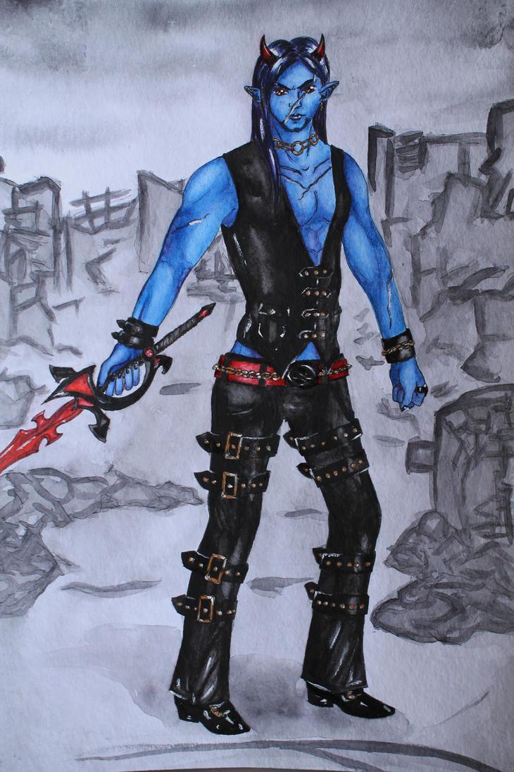 Kieran Azra by Fricky-Blue-Eye