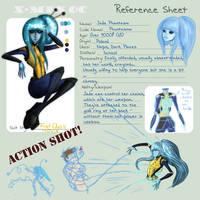 Jade - X-Ghouls Ref Sheet by Alexois