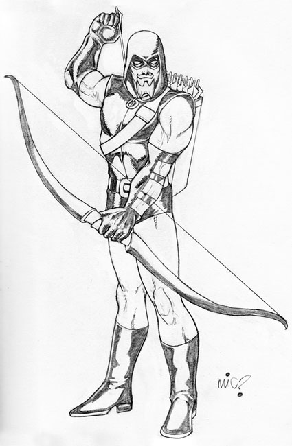 Green Arrow Pencil Drawings | Www.pixshark.com - Images Galleries With A Bite!
