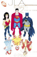 JLA: Earth 2 Times As Obese by micQuestion