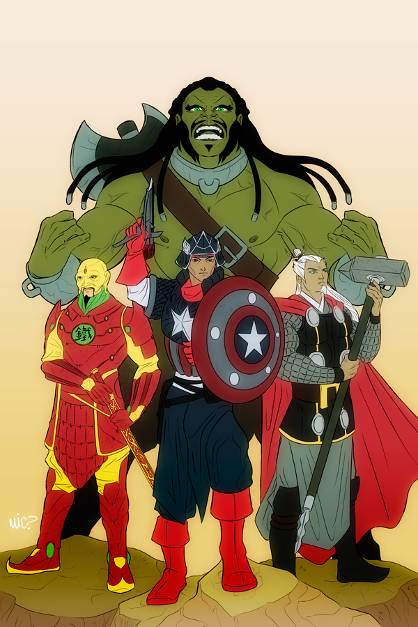 The Avengers of Imperial China by micQuestion